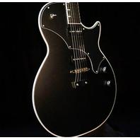 TV Jones Spectra Sonic Standard Matte Black Guitar W/Hardshell Case
