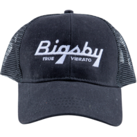 Bigsby True Vibrato Trucker Hat Black