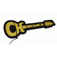 Charvel Logo LED Limited Edition Sign Lights Up Power Supply Inc
