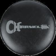 Charvel Logo 24'' Black And Gray Bar Stool
