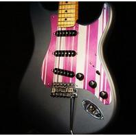 Fender Custom Shop Charcoal Frost Stratocaster Jason Smith Master Built Namm Guitar