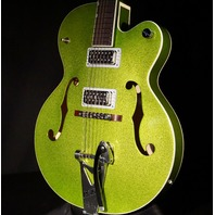 Gretsch G6120T-HR Extreme Coolant Green Sparkle Brian Setzer Hot Rod Guitar