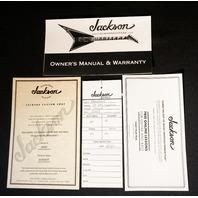 Jackson USA Custom Dave Davidson Signature Ltd WR7 Warrior Guitar Natural