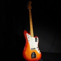 Fender American Ultra Jazzmaster Plasma Red Burst Guitar US19082006