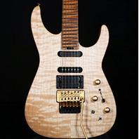 Jackson USA Custom PC1 Phil Collen Signature Satin Au Natural (Actual Guitar)