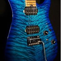 Charvel DK24 HH Pro Mod 2PT CM Chlorine Burst Electric Guitar MC198223
