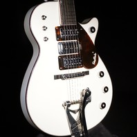 Gretsch USA  Custom Shop Triple Jet 3 Pickup Alpine White