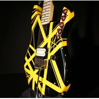 EVH '79 USA Bumblebee Tribute Relic Lmt Ed Guitar Signed By Eddie