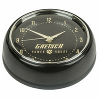 Gretsch Retro Power & Fidelity Wall Clock 922-846-3000