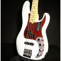 Fender American Ultra Precision Bass Artic Pearl Maple Neck US19105212