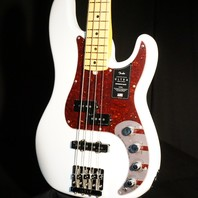 Fender American Ultra Precision Bass Artic Pearl Maple Neck US19105212