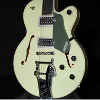 Gretsch G6659T-SGR  2-Tone Smoke Green JR Players Edition Broadkaster Guitar