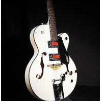 Gretsch G5410T MVW Rat Rod Hollow Body Matte Vintage White Electromatic Guitar