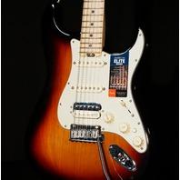 Fender American Elite Stratocaster HSS Shawbucker 2019 3-Tone Sunburst Guitar