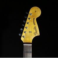 Fender Custom Shop '62 Jaguar Journeyman Aged Olympic White Relic Guitar