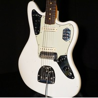 Fender Custom Shop '62 Jaguar Journeyman Aged Olympic White Relic Guitar