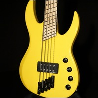 Jackson Custom Hellion Masterbuilt Namm Show 5 String Bass Graffiti Yellow