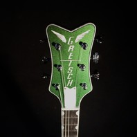 Gretsch Namm Show '59 Custom Shop Penguin Green Silver Chameleon Guitar