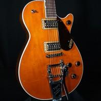 Gretsch G6128T-PE Players Edition Duo Jet Round Up Orange Guitar JT20031097
