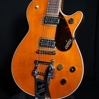 Gretsch G6128T-PE Players Edition Duo Jet Round Up Orange Guitar JT20031097