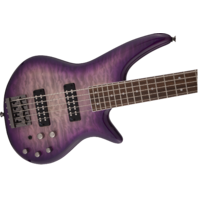 Jackson JS3Q V Spectra Purple Phase 5 String Bass Guitar ICJ1970149