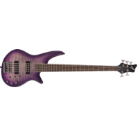 Jackson JS3Q V Spectra Purple Phase 5 String Bass Guitar ICJ1970149