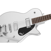 Gretsch G5260T Electromatic Jet Baritone Guitar Airline Silver W/Bigsby