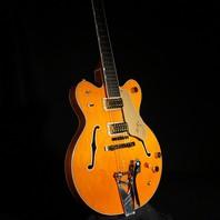 Gretsch G6120DC Double Cutaway Guitar Orange W/Mutes JT07072437