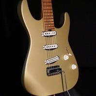 Charvel Pro Mod DK22 SSS 2PT CM Pharaohs Gold Guitar