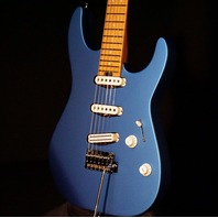 Charvel Pro Mod DK22 SSS 2PT CM Electric Blue Guitar