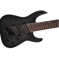 Jackson X Series Slat XF8 QM MS Trans Black Burst Guitar ICJ1974081