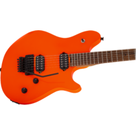 EVH Wolfgang Standard Neon Orange Baked Maple Neck Guitar