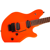 EVH Wolfgang Standard Neon Orange Baked Maple Neck Guitar