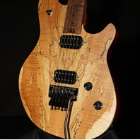 EVH Wolfgang Standard Exotic Spalted Maple Baked Maple Neck Guitar ICE1902238