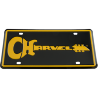 Charvel Logo Metal License Plate