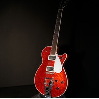 Gretsch G6129T-PE Players Edition Red Sparkle Jet Guitar Lmt. Ed.