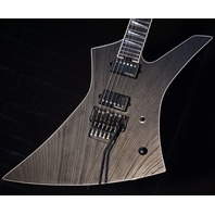 Jackson USA Custom Signature Jeff Loomis Kelly Black Ash Guitar