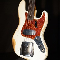 Fender Custom Shop 1960 Jazz Bass Heavy Relic Aged Olympic White