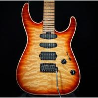 Charvel USA Custom Select DK24 2PT HSS Autumn Glow Dinky (Actual Guitar)