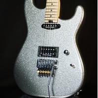 Charvel USA Custom San Dimas HS Smoked Chrome Flake Guitar (Red Dave)