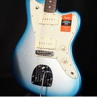 Fender American Pro Jazzmaster Solid Rosewood Neck Guitar Skyburst Metallic