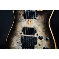 Jackson Wild Card Series SL2P Trans Black Soloist Guitar W/Case (''B'' Stock)