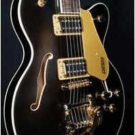 Gretsch G5655TG Electromatic CB Jr. w/Bigsby Black Gold Guitar CYGC20090502