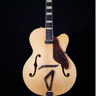 Gretsch G100CE Flat Natural Synchromatic Archtop AC/EL Guitar
