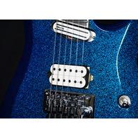 Jackson Wild Card Lmt Ed Soloist Extreme SL27 Blue Sparkle Arch Top Guitar (In Stock)