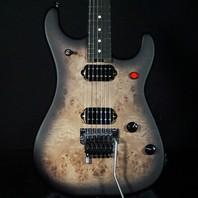 EVH 5150 Series Deluxe Poplar Burl Black Burst Guitar (Actual Guitar)