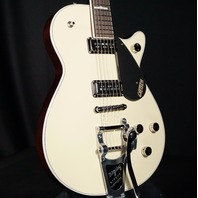Gretsch G6128TDS Players Edition Jet Lotus Ivory Guitar Dynasonic w/Bigsby (In Stock)