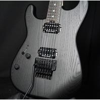 Charvel SD1 HH FR LH Lefty Pro Mod  San Dimas Black Sassafras Guitar