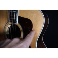 Guild USA F-55E Natural Jumbo Acoustic/Electric Guitar (B-Stock)