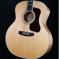 Guild USA F55 Maple Blonde Jumbo Acoustic Guitar (B-Stock)